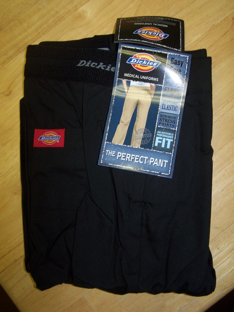 NWT-Dickies-52002-Flat-Front-Perfect-Nurses-Scrub-Pants