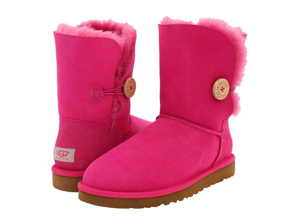 NIB-UGG-BAILEY-BUTTON-PERF-SHORT-WOMENS-BOOTS-SHOES-FRUIT-PUNCH-SZ-5-6-7-8-9-10