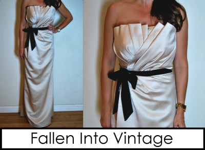 Champagne vera wang bridesmaid wedding strapless style for How to ship a wedding dress usps