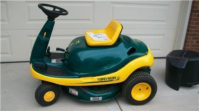 1999 Yard Man Bug 8 5 Hp 28 Inch Cut Riding Lawn Mower