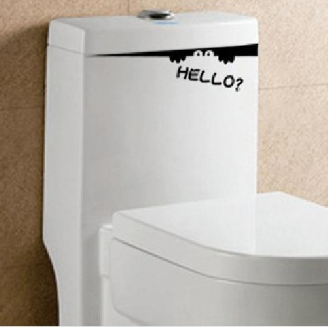 SEAT TOILET Decor Mural Art Wall Sticker Decal S057 (various colors