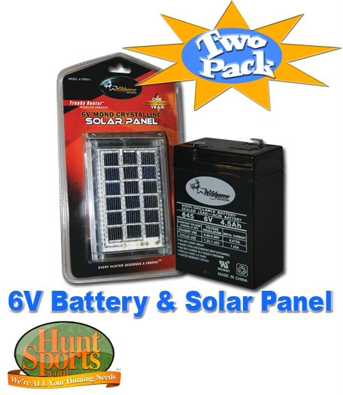 hook up solar panel deer feeder - deer feeder kits - varmint batteries/solar make your feeder virtually maintenance free by using a rechargeable battery and solar panel on your fish or deer.