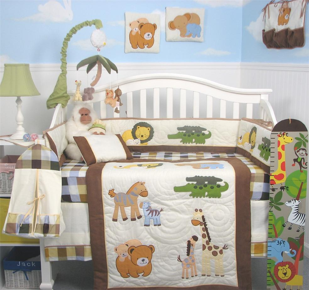 Soho Designs Mommy and Me Baby Crib Nursery Bedding Set 10pcs at Sears.com