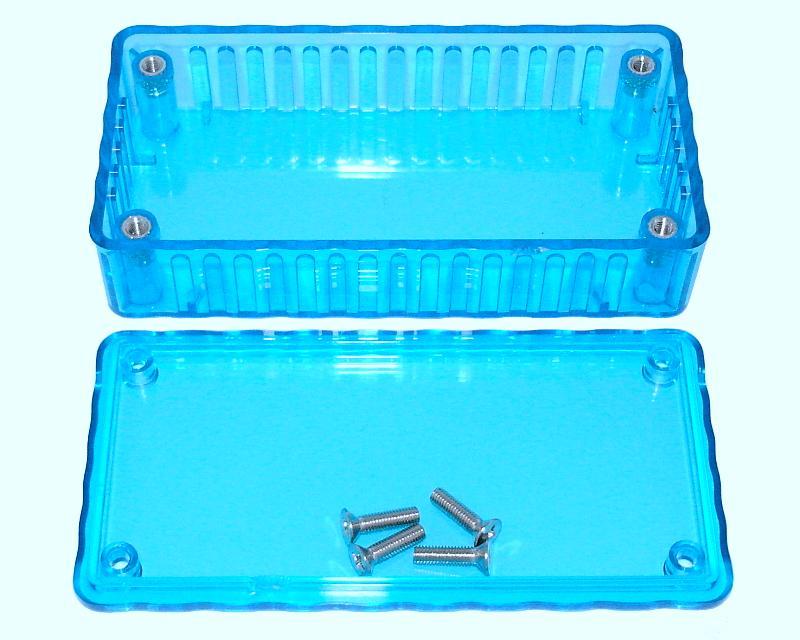 100x50x25mm Translucent Project Case Abs Box Enclosure Ebay