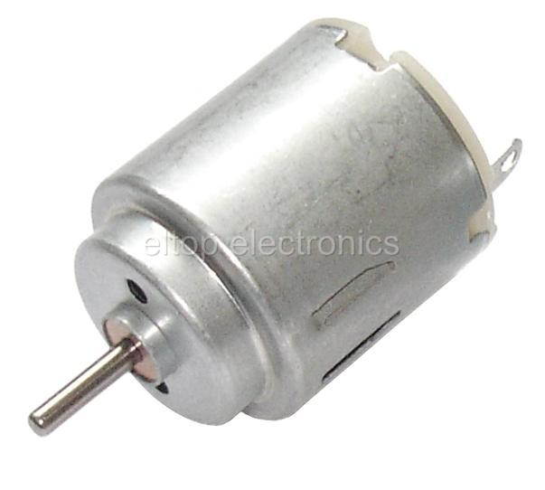 Miniature small electric motor brushed 1 5v 12v dc for for Very small electric motors