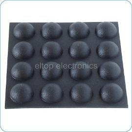 Round Rubber Foot 12 x 5mm