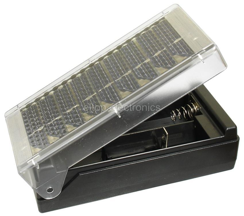 Universal Solar Panel Battery Charger for AAA AA C or D Ni CD and Ni ...