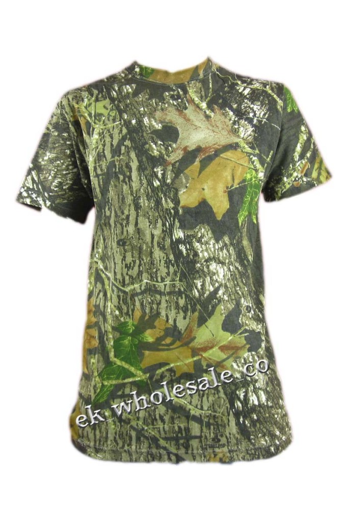 New camouflage camo real tree jungle print t shirt top ebay for Camouflage t shirt printing