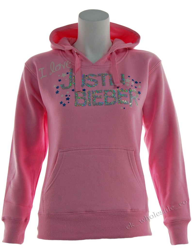 d26 new girls justin bieber hoodie sweatshirt top age 7. Black Bedroom Furniture Sets. Home Design Ideas