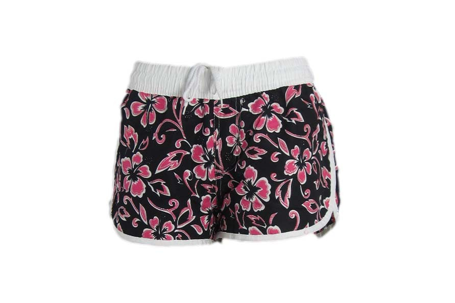 Multipurpose women's board shorts Board shorts allow you to stay fit and active, even when the temperatures rise. You can find stylish designs made from materials that help your body adjust to whatever activities you enjoy, such as quick-drying materials and fabrics containing SPF protection.