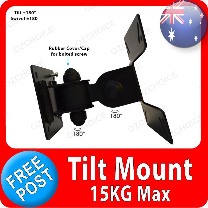 """10 14 18 20 21 22 24 26"""" Tilt Swivel Wall Bracket Mount LCD LED Monitor TV"""
