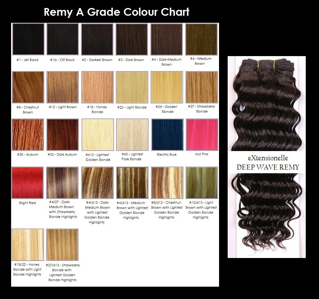 22-Deep-Wave-Curly-Remy-A-Grade-Human-Hair-Extensions-Weft-Weave-10-Colours