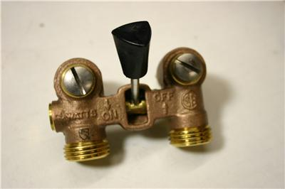 Details about watts washing machine shut off valve made in us nib