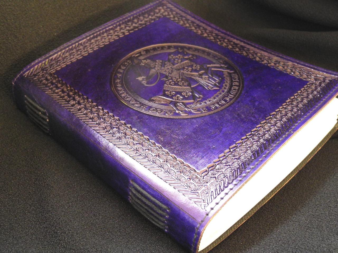 Large Handmade Leather Sketchbook Diary