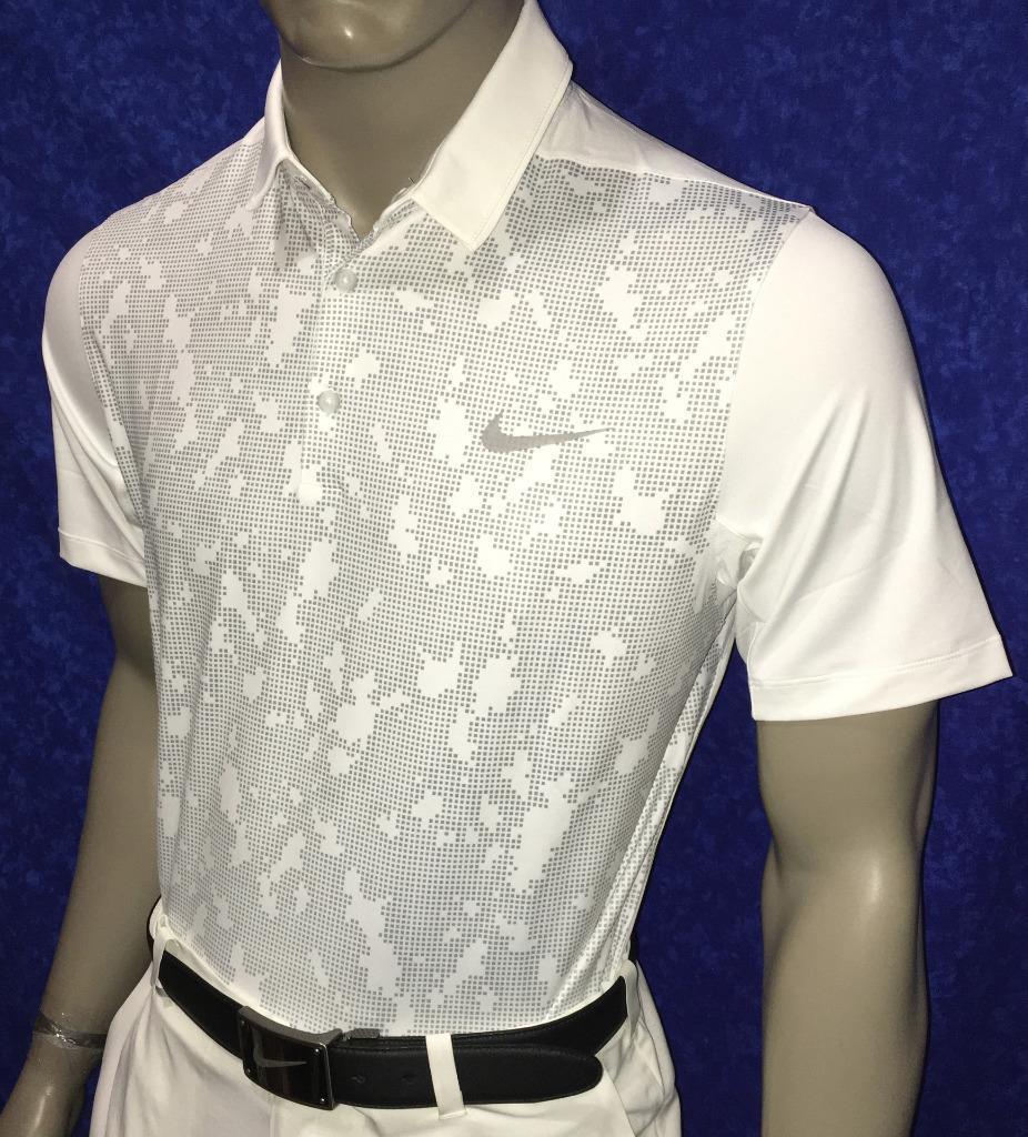 Spring 2016 nike mobility camo polo golf shirt 75 010 for Camo polo shirts for men