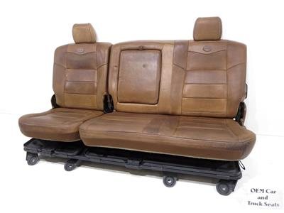 Replacement Ford Super Duty F250 F350 King Ranch Rear Seat 1999 2003 2004 2005 2006 2007 Stock 8377i