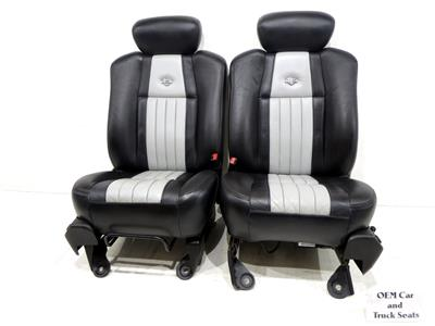 Replacement Ford F-150 F150 Harley Davidson Leather Seats Oem 1997 ...