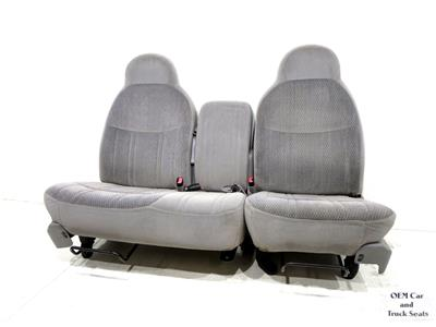 replacement ford f 150 f150 front oem 60 40 seats 1997. Black Bedroom Furniture Sets. Home Design Ideas
