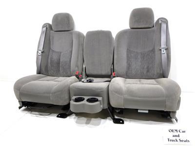 Replacement Gm Silverado Sierra Cloth Oem Truck Suv Seats