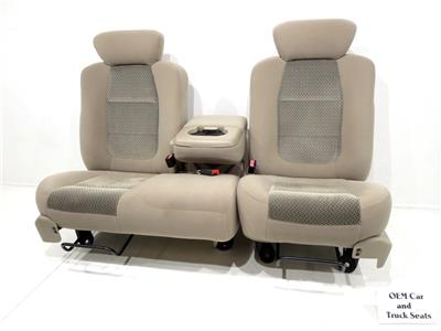 replacement ford f150 f 150 oem 60 40 cloth seats 1997. Black Bedroom Furniture Sets. Home Design Ideas