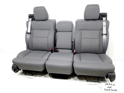 Replacement Ford F150 Oem Replacement Cloth Seats Extended
