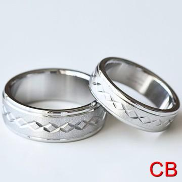 matching promise rings stainless for him sizes 5 14