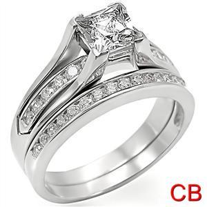 Princess-Cut-Engagment-Ring-Set-Engagement-Ring-and-Wedding-Band-0-75Ct