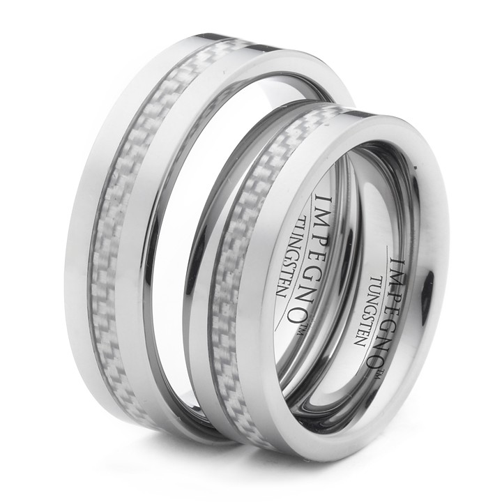 6mm matching his and hers wedding promise rings free
