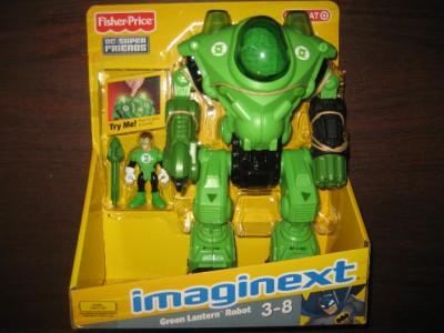 imaginext batman green lantern robot w lights sounds ebay