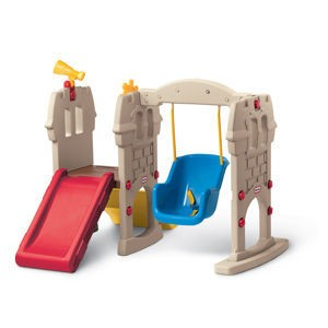 Little tikes swing along castle swing seat support metal for Little tikes spare parts