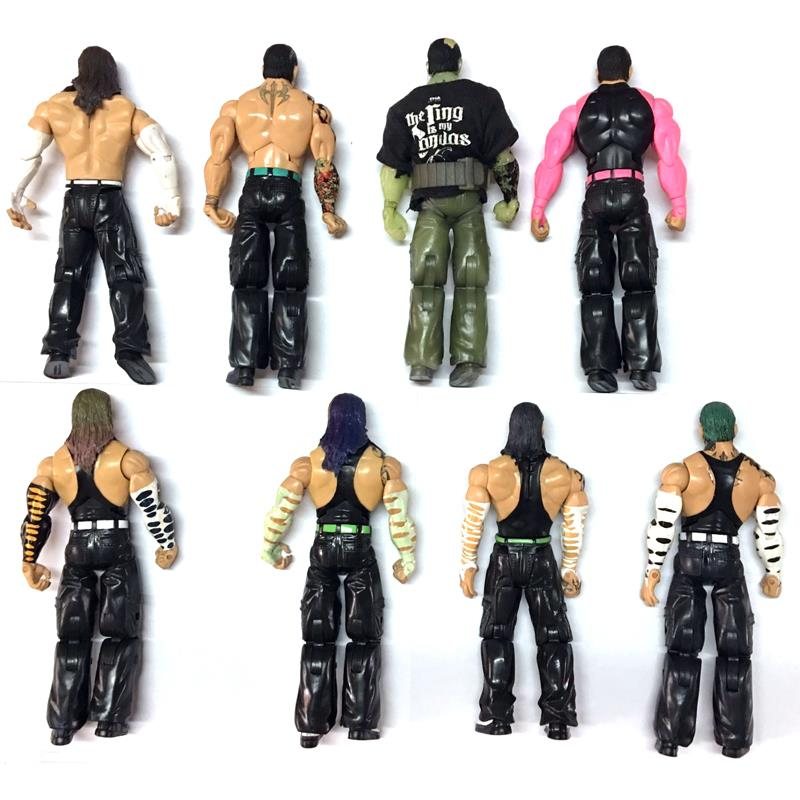 Wwe Toys For Boys : Deluxe wwe tna jeff hardy boys wrestling action figure