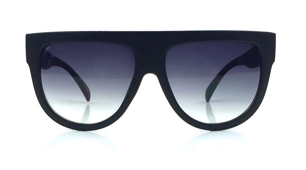 Oversized Flat Top Sunglasses  de vintage shadow designer flat top aviator oversized women