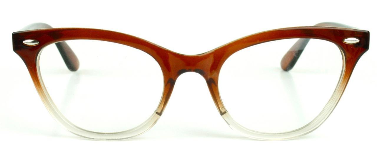 Glasses Gradient Frame : Cat Eye Gradient Frame Clear Lenses Women Eyeglasses ...