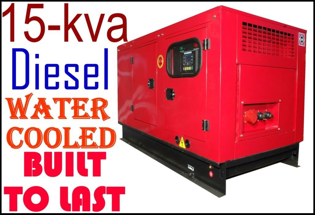 GENERATOR 15 Kva NEW UNIQUE CHINEESE Xichai ENGINE