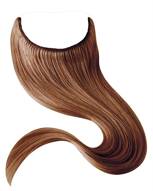 Human Hair Halo Extensions Quality Hair Accessories