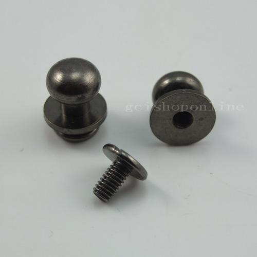 Nail Buttons: 5 10 20 50 Head Button Stud Screwback 4 Leather Craft Bag