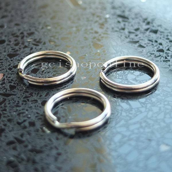 25 50 250 keyring Keychain split ring 4 Swivel Clip key 13mm 15mm 20mm 25mm 35mm