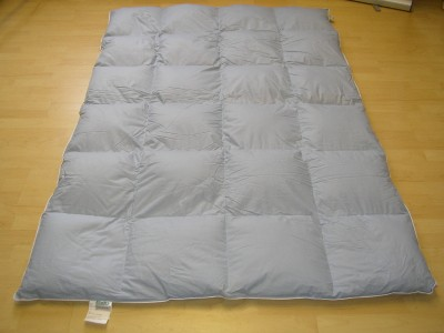 sibirien daunenbett 135 200 daunendecke kassettendecke 4x6 880gr daune. Black Bedroom Furniture Sets. Home Design Ideas