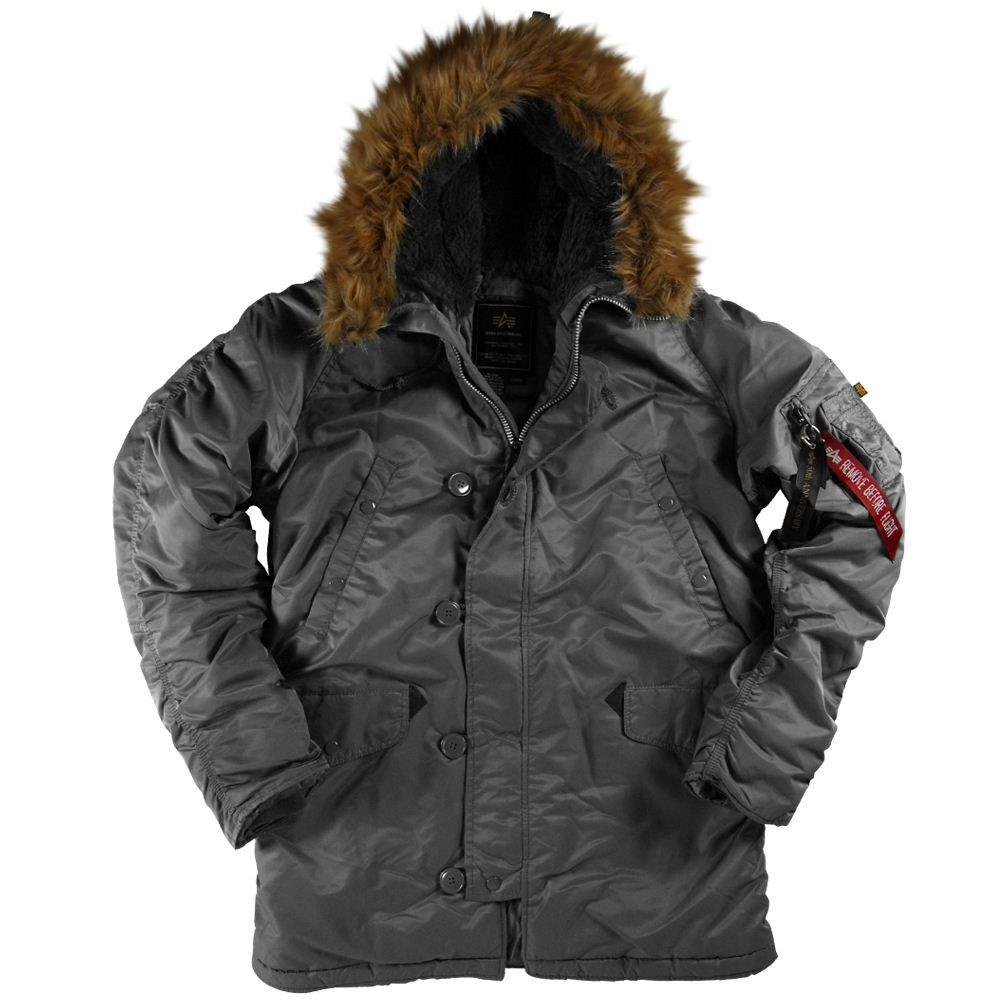 SlimFit N-3B холодную погоду парка предназначена для экстремальных погодных условий.