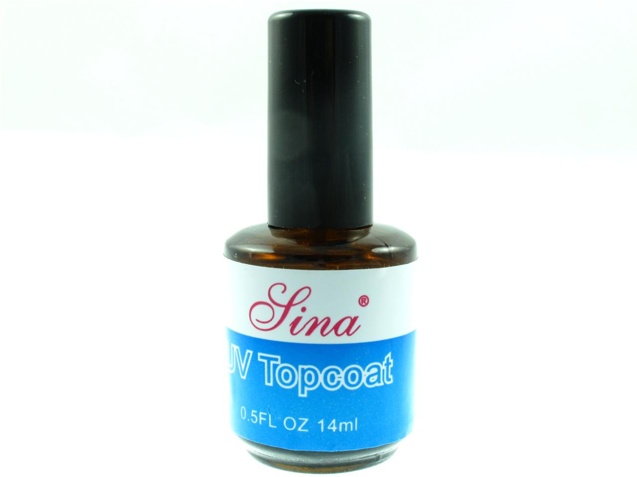 nail art uv gel topcoat acrylic nail gel top coat polish seal 14ml x 1 ebay. Black Bedroom Furniture Sets. Home Design Ideas