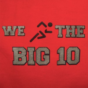 WE RUN THE BIG TEN t-shirt jersey state ohio funny vintage braxton ...