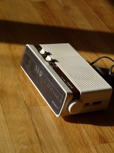 Sony Flip Clock Radio Vintage Copal Eames Alarm Howard Danish