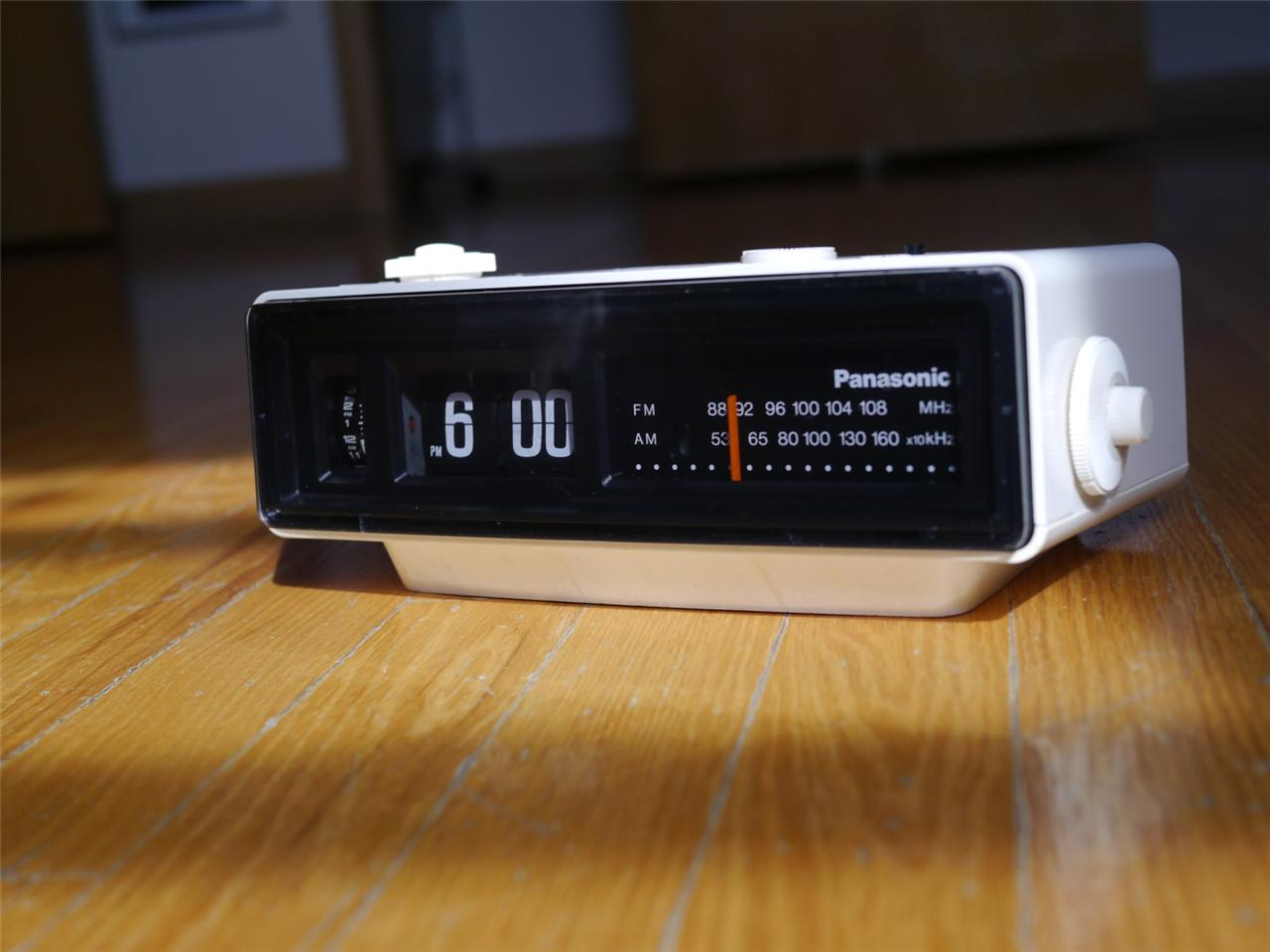 Panasonic Flip Clock Radio Mine Was Black Jorgenca Grcom
