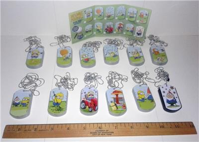NEW UNUSED Despicable Me 2 Minions Sealed Set of Six #2 Illustrated Pencils