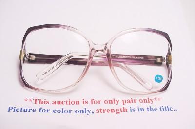 c71c6a41f7 Big Big Babe Womens Large Frame Bifocals Reading Glasses +3.00 on ...