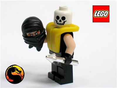 Lego MORTAL KOMBAT Custom SCORPION Minifigure Brand New ...  Lego MORTAL KOM...