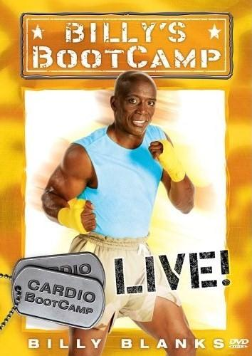 Tae Bo Original Billy S Bootcamp 4 Dvds Basic Cardio