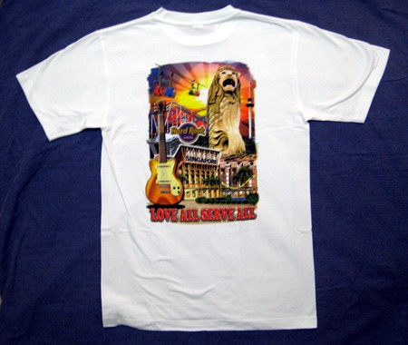 hard rock cafe singapore city t shirt new hotel m ebay. Black Bedroom Furniture Sets. Home Design Ideas