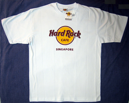 hard rock cafe singapore logo t shirt nwt xlarge ebay. Black Bedroom Furniture Sets. Home Design Ideas