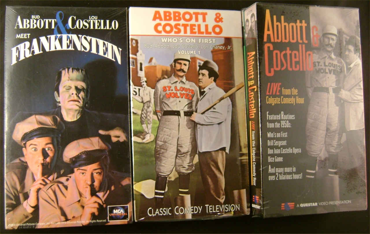 abbott and costello meet frankenstein vhsl